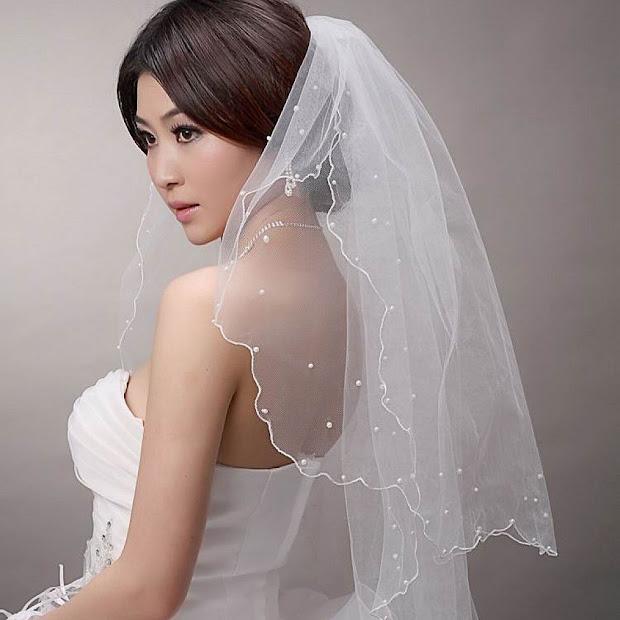 peinados de novia pelo corto 15