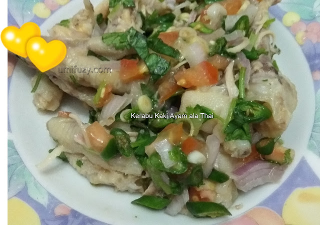 Resepi | Kerabu Kaki Ayam ala Thai