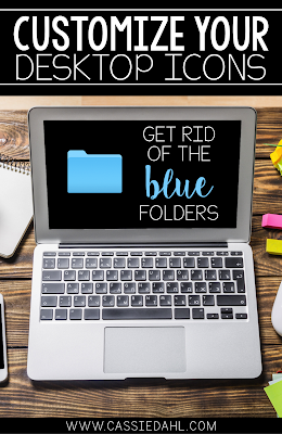 Are you sick of those boring blue folders on your desktop? This quick video shows you how you can change them and customize them to your needs and personality.