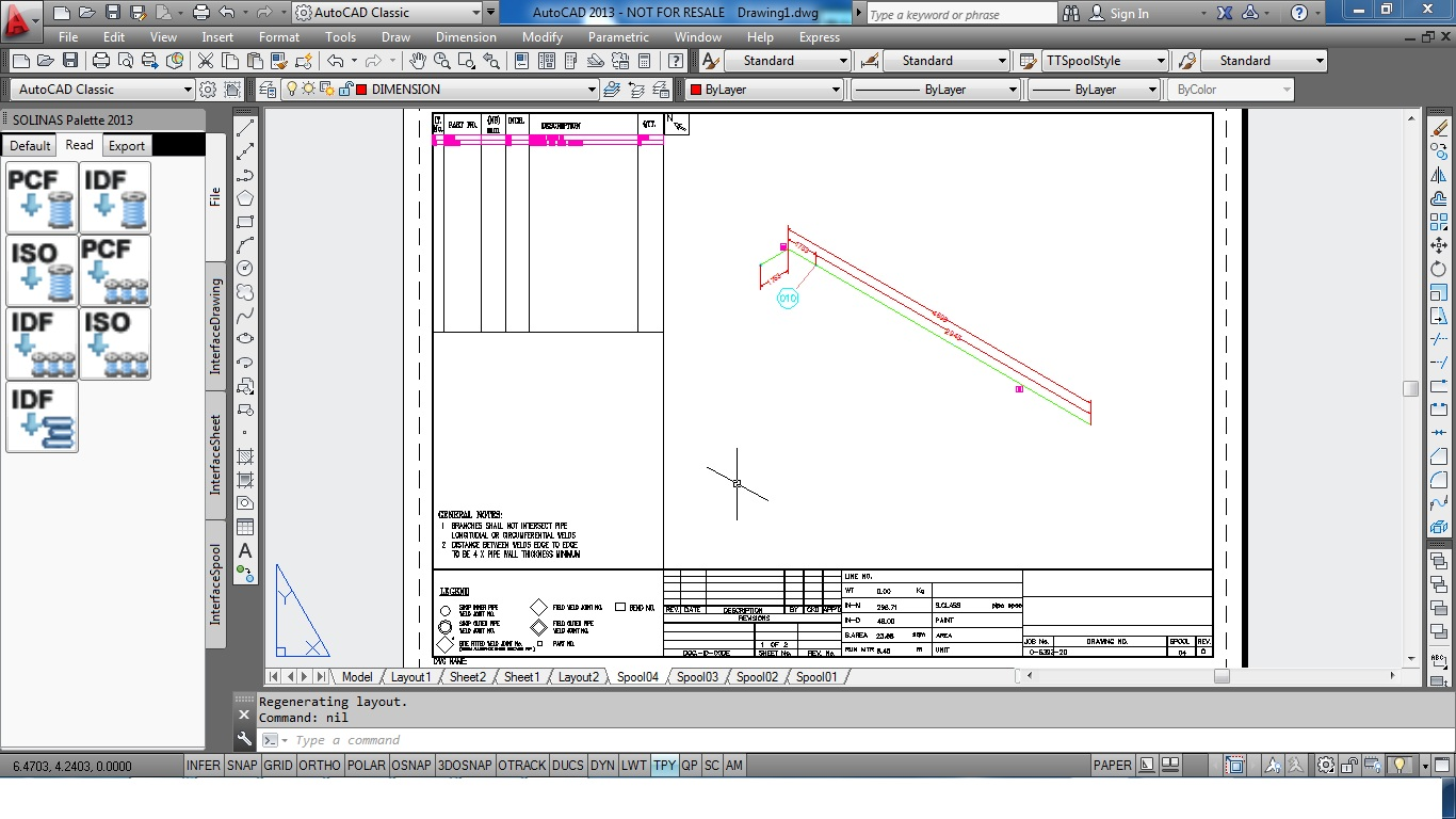 AutoCAD Add-ons: Solinas for Fabrication – Draw Piping With