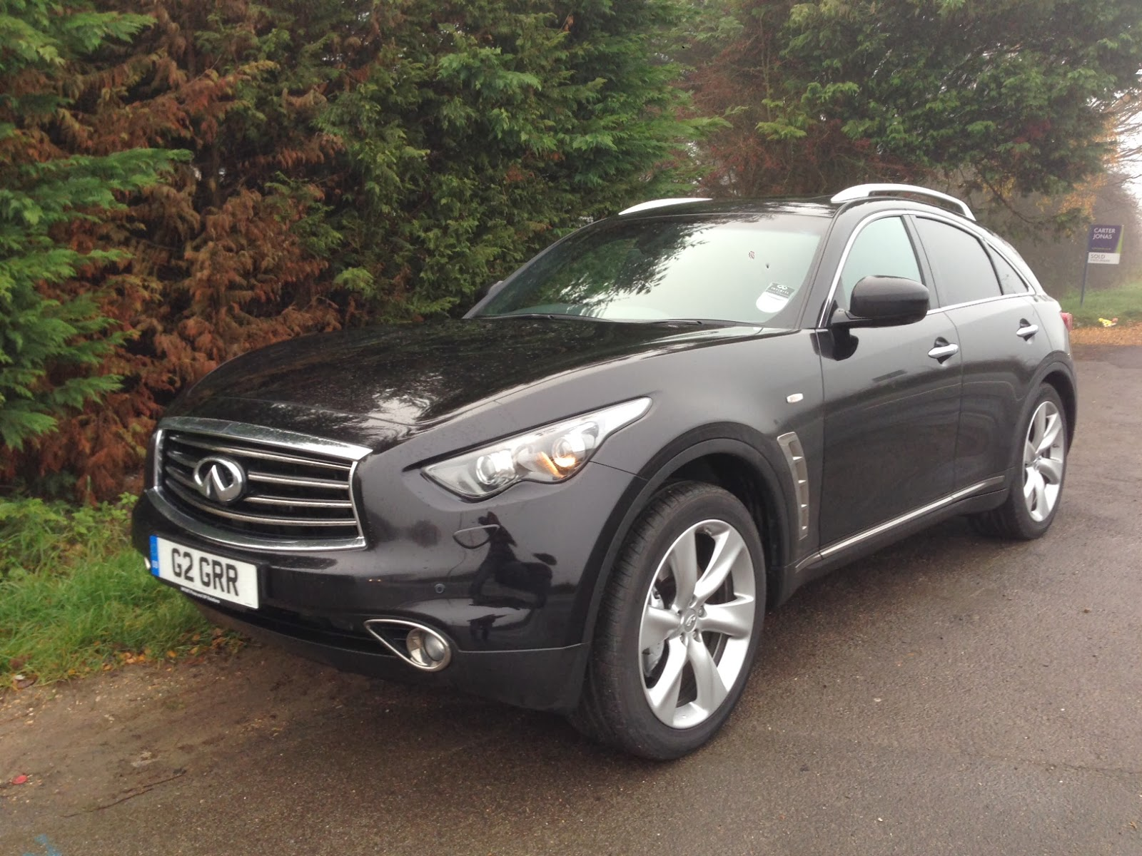 speedmonkey infiniti qx70 3 0d s first impressions and gallery. Black Bedroom Furniture Sets. Home Design Ideas