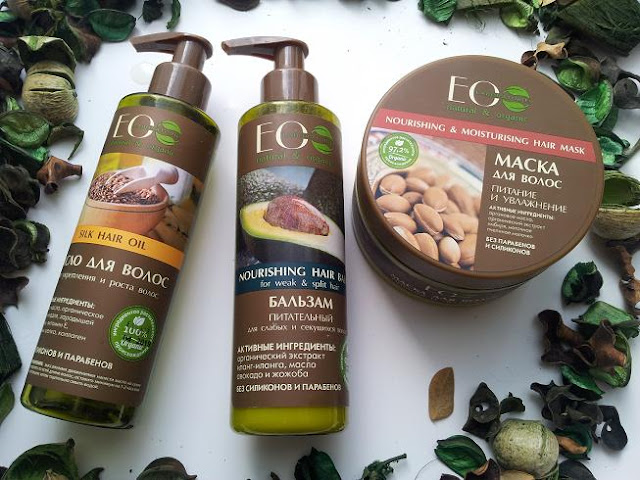 3X ECO LAB - RECENZJA: SILK HAIR OIL, NOURISHING HAIR BALM, NOURISHING & MOISTURIZING HAIR MASK