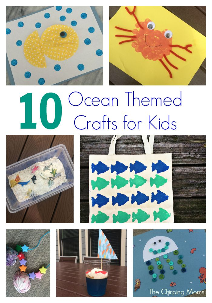 10 Ocean Crafts And Activities For Kids The Chirping Moms