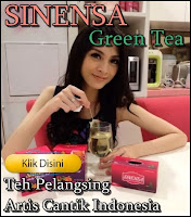 Sinensa Green tea pelangsing Original