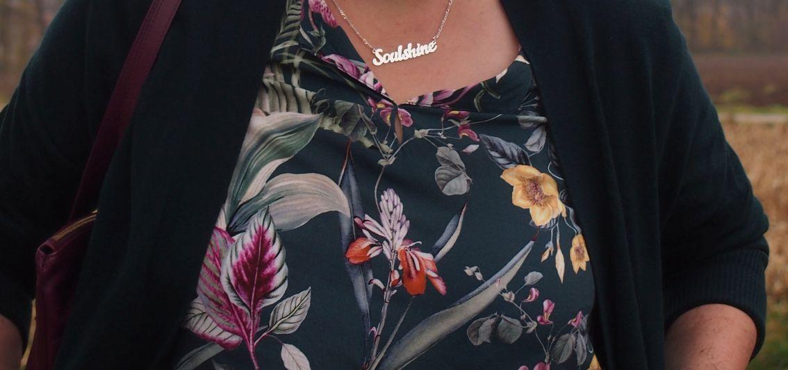 Modetrend 2018 tropische Blütendrucke