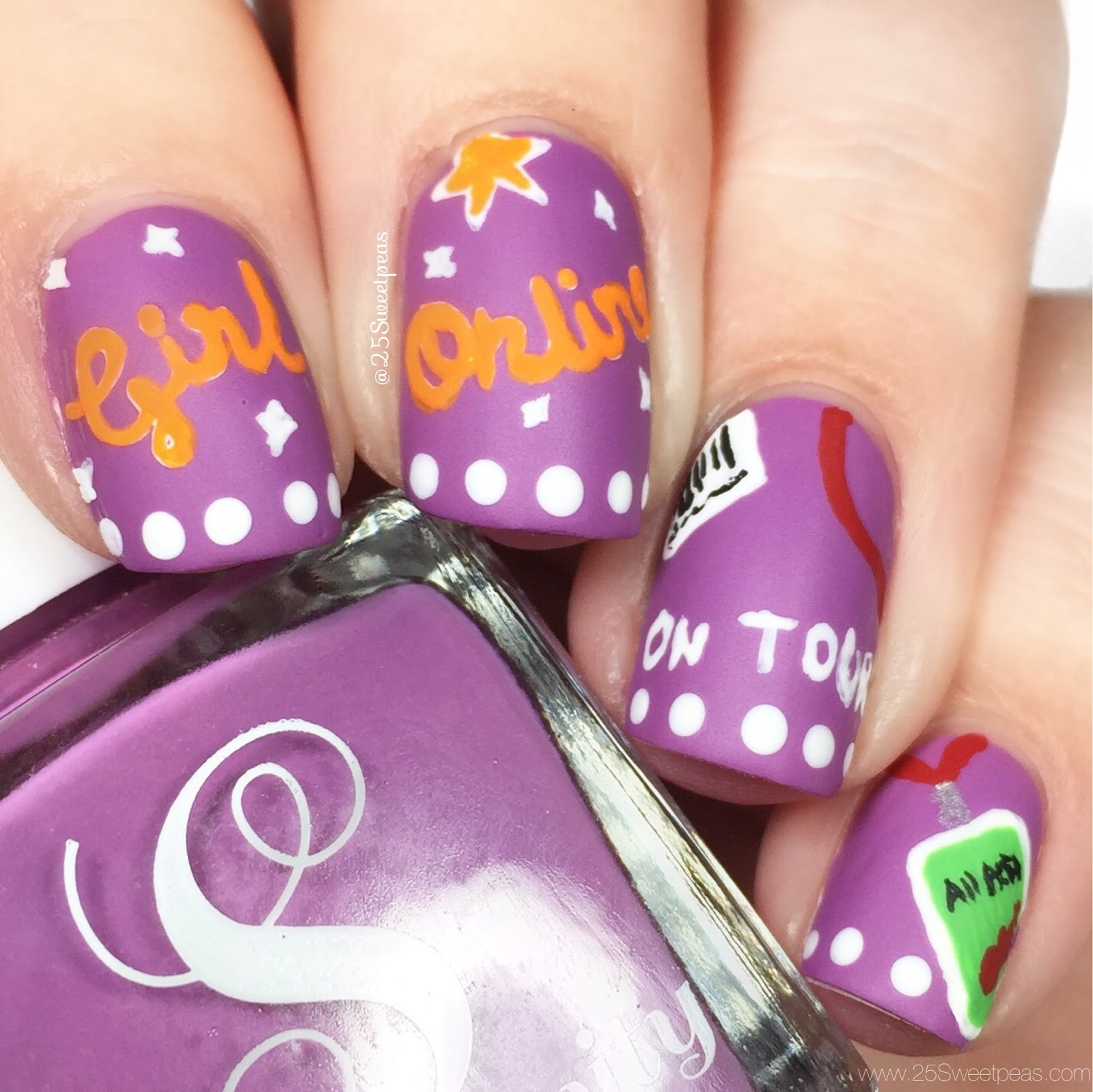 Girl Online Nails