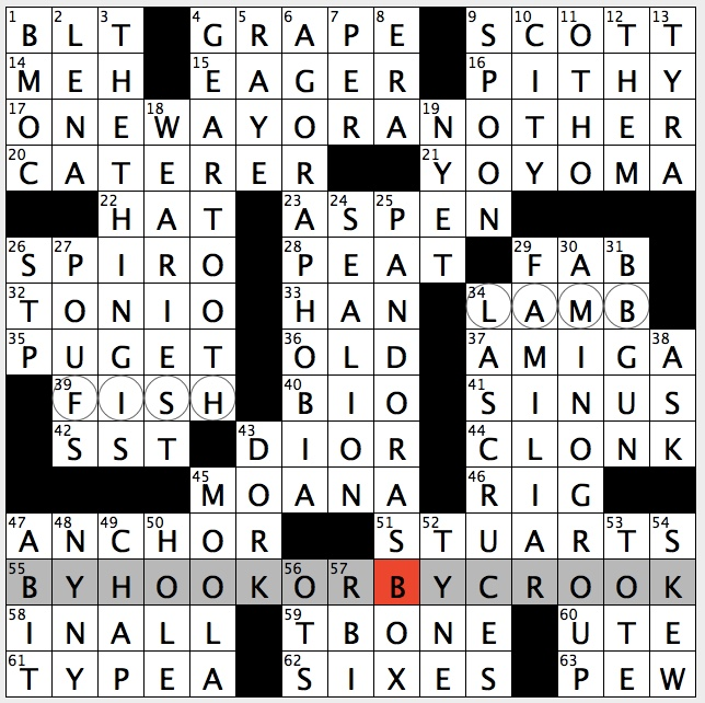 Rex Parker Does The NYT Crossword Puzzle Roman Emperor