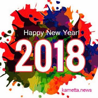 Kartu Ucapan Met Tahun Baru 2018 Kata-Kata SMS