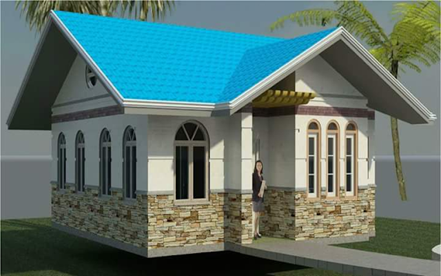Would you like to live in a wonderful house? Maybe you are just looking to stand out? Bungalow house design is one the most common house due to their wide, welcoming front patios, low-pitched rooftops and open floor designs. Grasping straightforwardness, craftsmanship, and regular materials, it is also charming and cozy. Everybody longs for his own private home. Once in a while, the absence of room and fund makes it difficult to build a huge and extensive house. To the extent outside plan is concerned, a small house can be planned in a cutting edge style, moderate style or a conventional style.  Everyone dreams of his own private home. Sometimes the lack of space and finance makes it impossible to construct a large and spacious house. Numerous engineers are very much familiar with clients' demand for bungalow house designs with a comfortable format and a high level of comfort. Small houses are intended for families comprising of 2-4 individuals and can be composed on maybe a couple levels.  Small bungalow house designs are one of the most popular housing forms today.  Their simplicity and wonderful strike a chord in many of us, overwhelmed by cleaning, maintaining and funding a traditional home.  But of course, these house are not for everybody, and do require a disciplined life style of purging belongings and managed expectations. It is also gaining stylishness for the same reasons tiny house designs have but are geared towards permanent location while still adhering to the modest lifestyle of tiny house living. Here are the 50 photos of small bungalow house that you can definitely build one day.