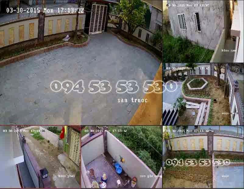 Lắp đặt camera tại Tp Vinh Nghệ An Hà Tĩnh