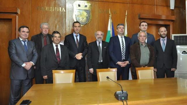 Επίσκεψη αντιπροσωπείας θεσμικών παραγόντων της Αλεξανδρούπολης στο Μπουργκάς της Βουλγαρίας