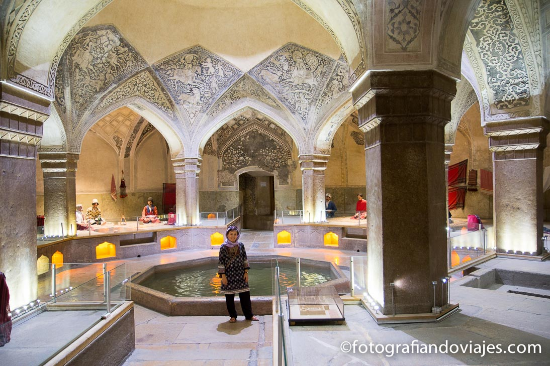 Hamman-e Vakil o baños Vakil en Shiraz