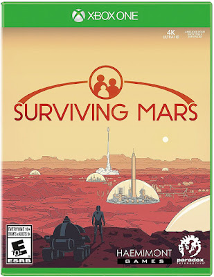 Surviving Mars Game Cover Xbox One