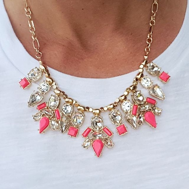 Perry Street Necklace (similar for $20) via Rocksbox - use code WEARITFORLESSXOXO to try a free month!