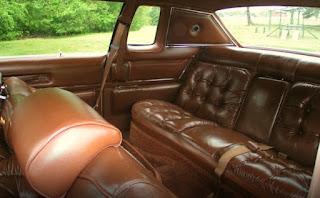 1976 Chrysler New Yorker Brougham Seat Rear