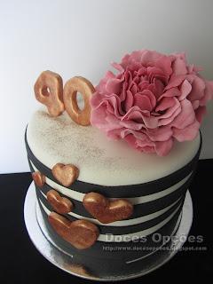 bolo aniversário 40