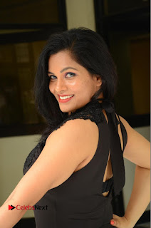 Revathi Chowdary Pictures in Black Long Dress at Kakateeyudu Movie Press Meet ~ Bollywood and South Indian Cinema Actress Exclusive Picture Galleries