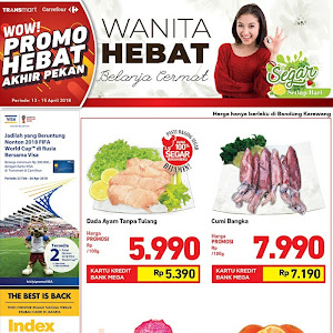 Katalog Promo CARREFOUR TRANSMART Fresh 20 - 22 April 2018