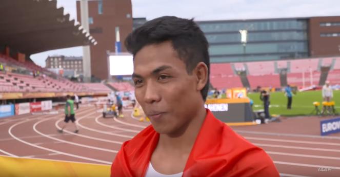 Diwawancarai Pakai Bahasa Inggris, Zohri Jawab Polos Dangan Bahasa Indonesia [VIDEO]
