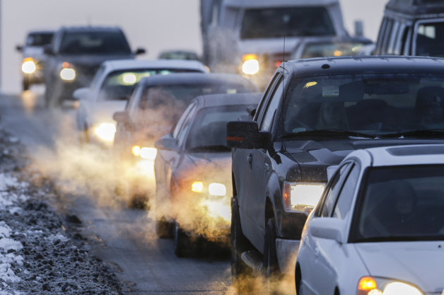 Cars, Trucks, Buses and Air Pollution