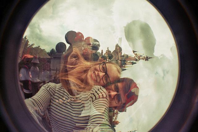 fisheye - Disneyland