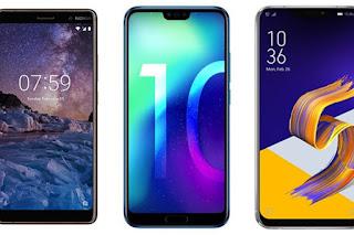 نوكيا 7 بلس ، Honor 10 ، Asus Zenfone 5: تتطابق الهواتف الذكية مع 400 يورو