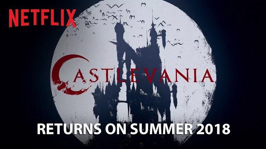 netflix xastlevania confirmed summer 2018