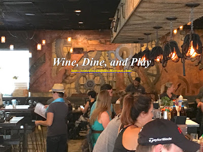 The Mill Restaurant in St. Petersburg, Florida has an ambience that focuses on the old American west  with new style hence the new American menu.