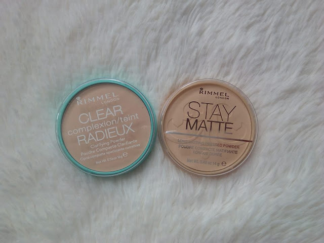 clear complexion powder vs stay matte