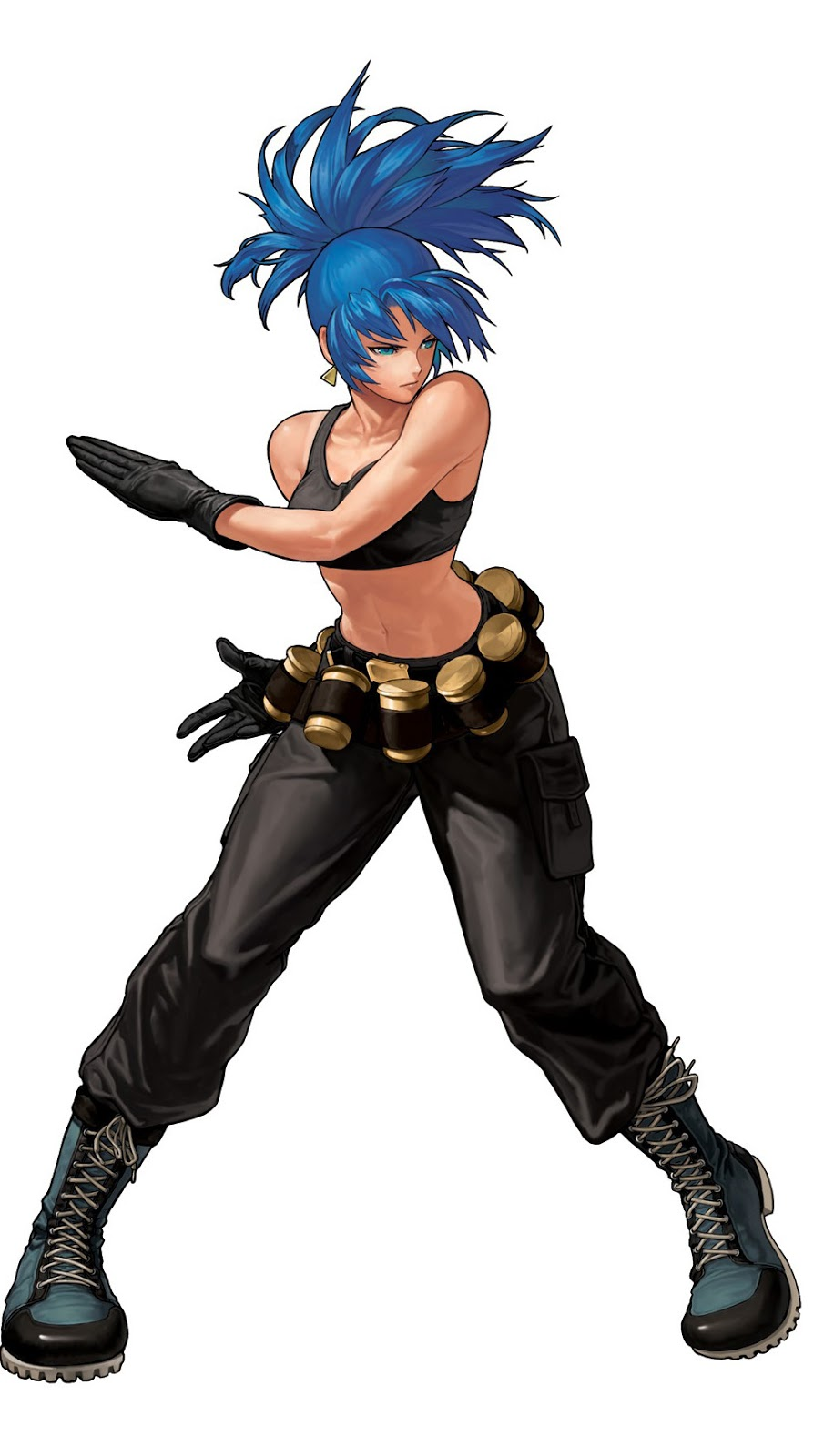 The King Of Fighters Ever Leona