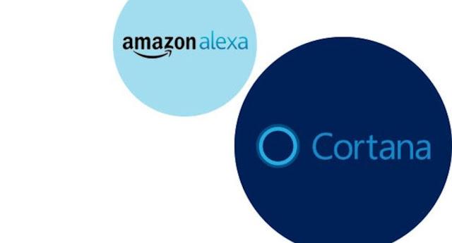Amazon Alexa And Cortana