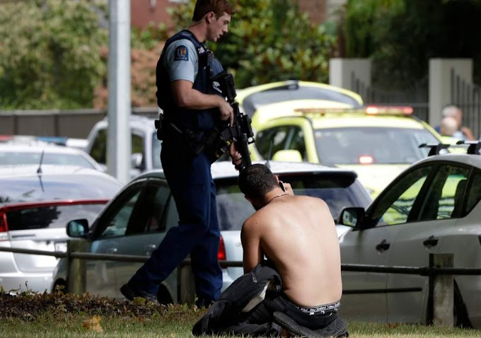 New Zealand : 40 Killed in Mosques Shooting