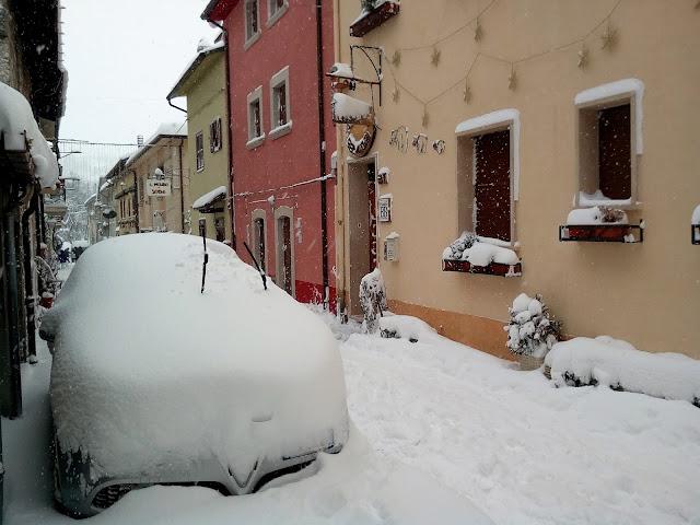 epifania 2017 Pescasseroli neve