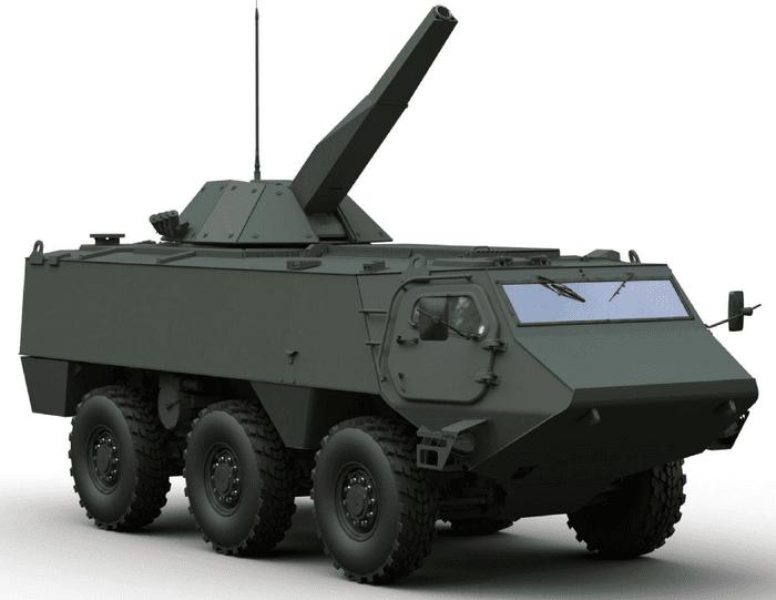 Patria 6x6 обрана для спільної програми Фінляндії й Латвії