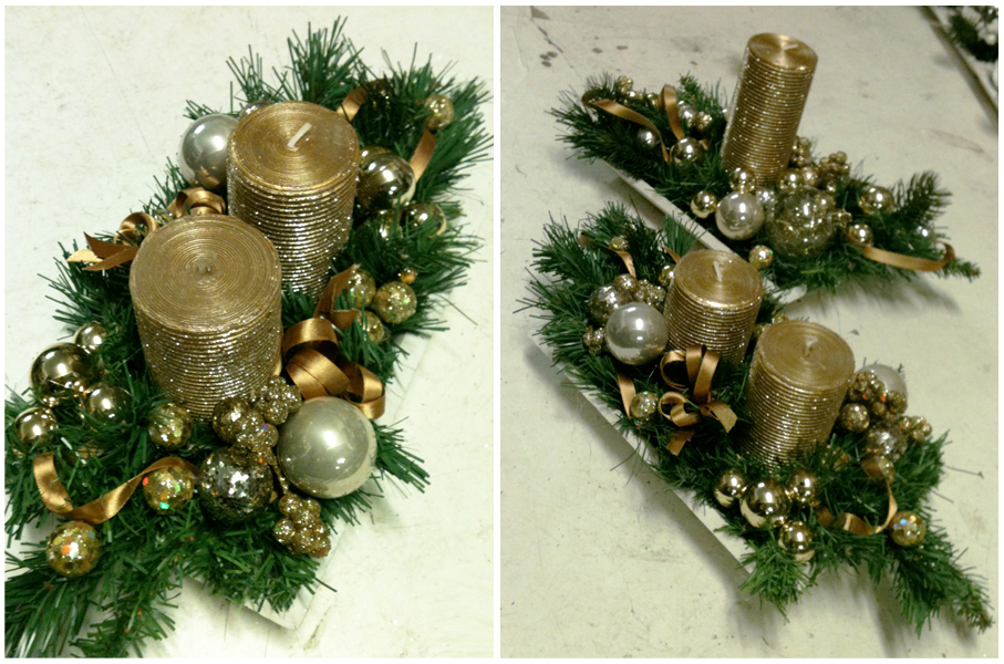37 Silver And Gold Christmas Decorations Ideas  Table Decorating Ideas