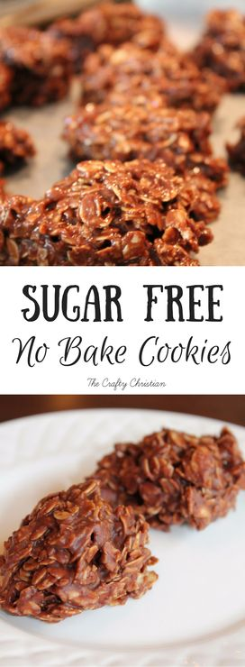 Sugar Free No Bake Cookies