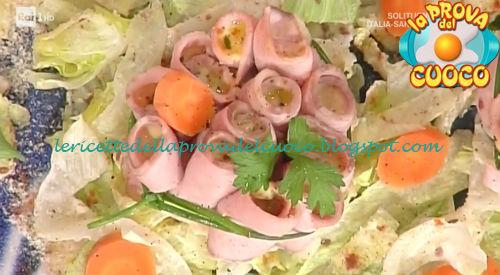 Rosette di vitello tonnato ricetta Mainardi da Prova del Cuoco