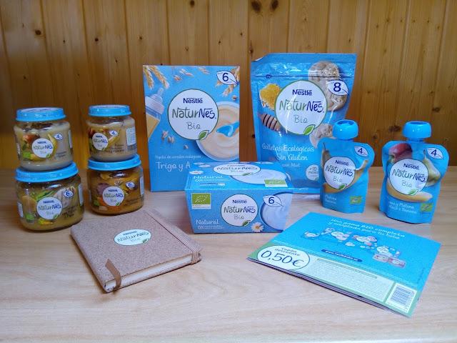 Productos ecológicos infantiles Nestle