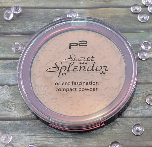 P2 secret splendor LE orient fascination compact powder 020 delicate touch