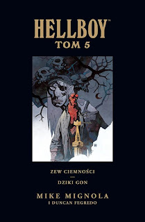 Hellboy tom 5 okładka