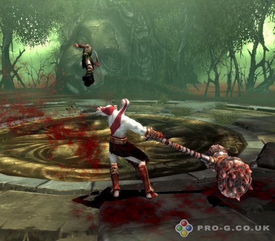God of War II PS2 GAME ISO Gameplay 1