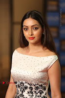 Actress Pooja Salvi Stills in White Dress at SIIMA Short Film Awards 2017 .COM 0137.JPG