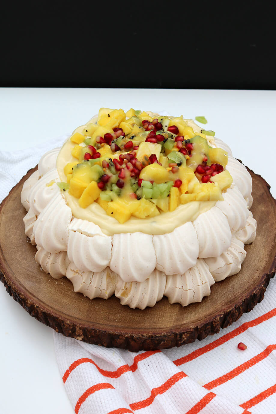 Tropical Vegan Pavlova | Bake Off Bake Along | Take Some Whisks