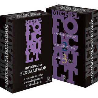 box livros foucault história da sexualidade