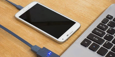 Jangan Isi Baterai Smartphone Dengan Laptop
