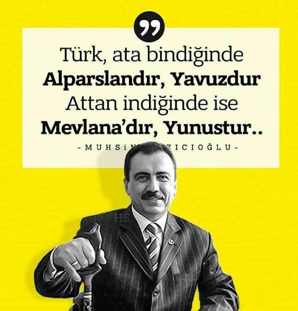 reis, başbuğ, türk, yiğit, muhsin başkan, Muhsin Yazıcıoğlu, baston