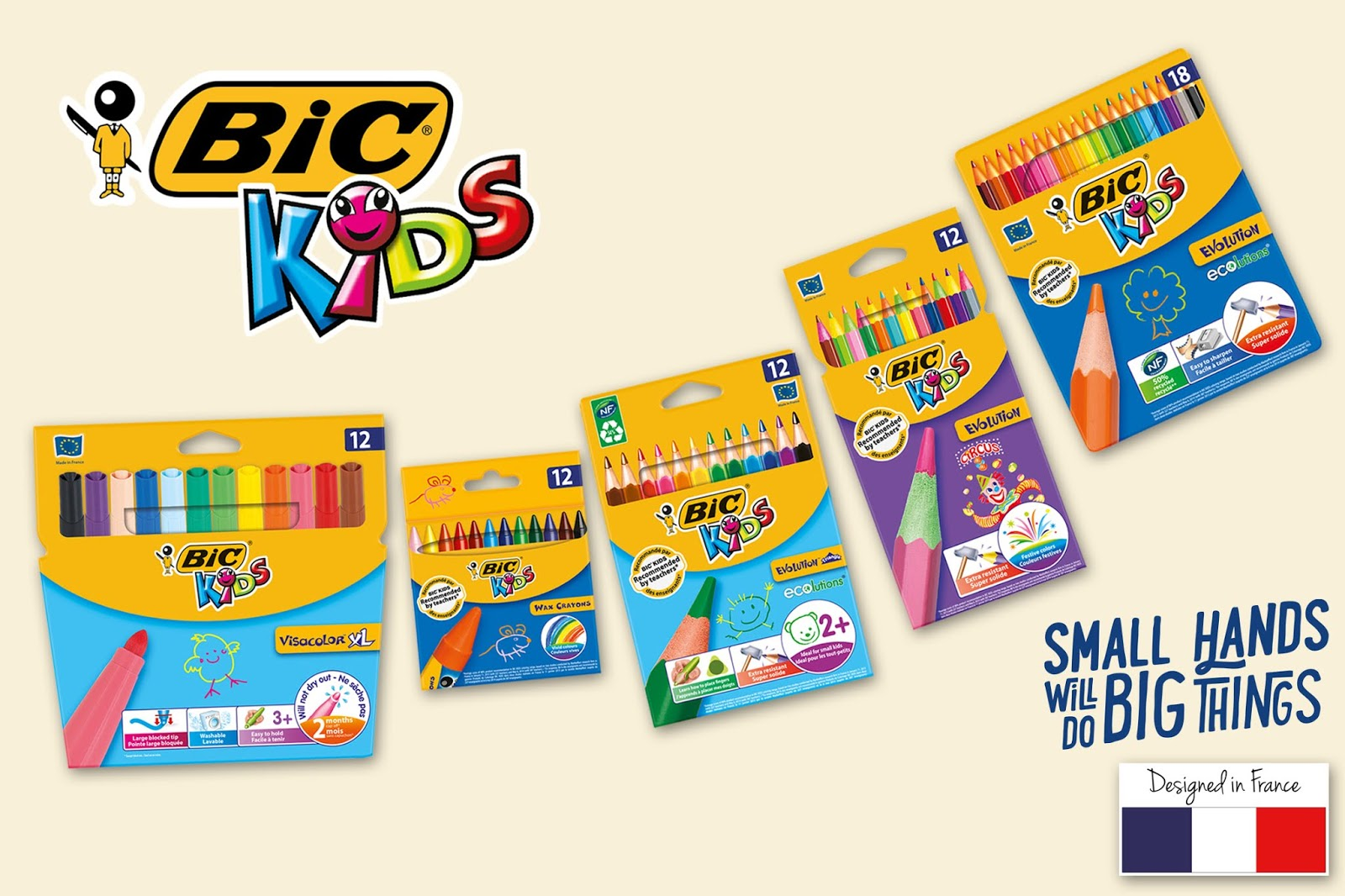Bic Launches A Collection Of Coloring Products Designed