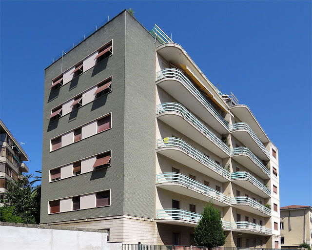 Apartment building, Viale Rosa del Tirreno, Livorno