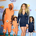 MPNAIJA GIST:Mariah Carey and ex Nick Cannon attend the Kids Choice Awards in matching outfits