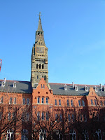 Healy Tower Georgetown University Rick Sincere teaching geography